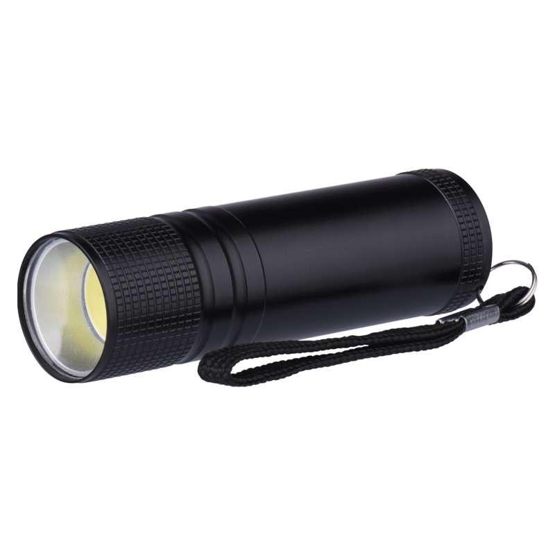 COB LED ruční kovová svítilna P3894, 100 lm, 3× AAA EMOS