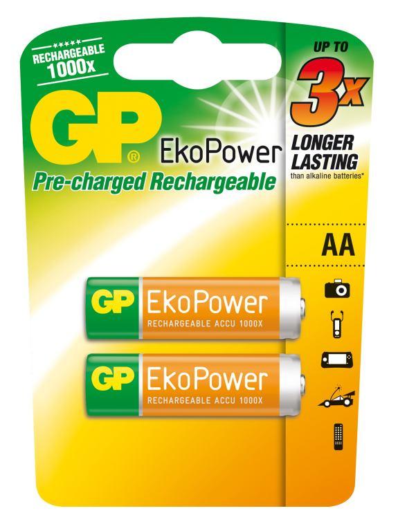 Nabíjecí baterie GP Ekopower HR6 (AA)