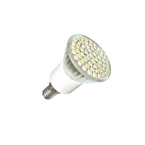 Žárovka LED 60 SMD 4,5W studená bílá