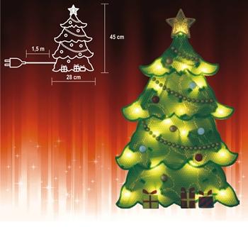 Vánoční dekorace Stromek KID 202
