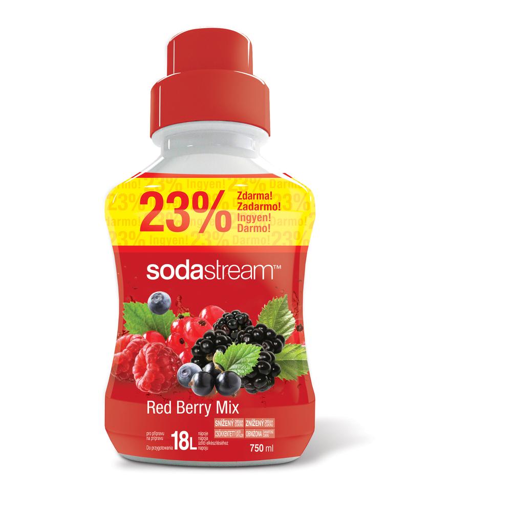 Sirup Red Berry velký 750ml/18L