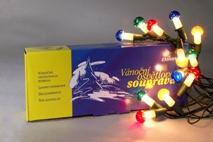 Fotografie Vánoční sada svíček muchomůrka barevná