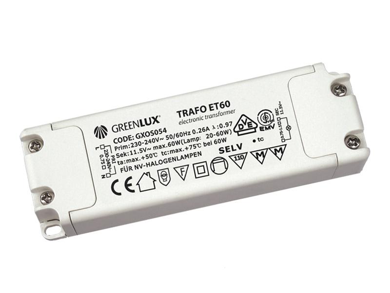 Fotografie ET60 20-60W elektronický transformátor