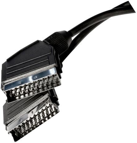 SCART-SCART 3m 21pin AV01B