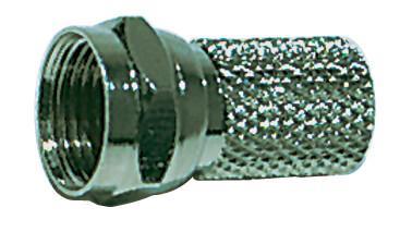 Fotografie Konektor F M5609M vidlice pro koax 4,9mm