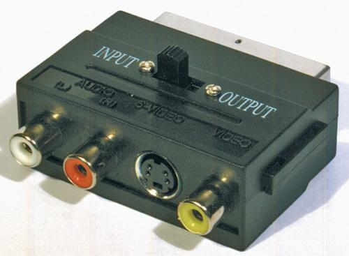 Fotografie SCART-3CINCH+SVHS adaptér