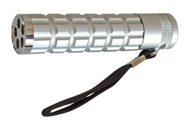 Fotografie LED svítilna kov-5diod