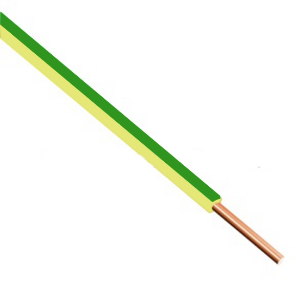 H07 V-U 4 Zž/z žlutozelená