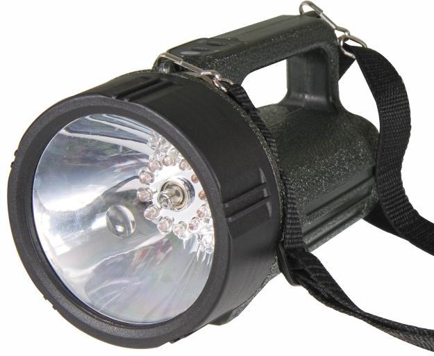 Fotografie Nabíjecí svítilna halogenová 3810 LED