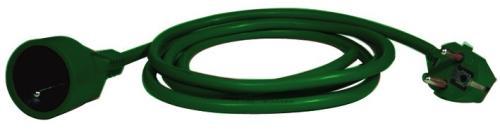 Fotografie Prodlužovací kabel-spojka 5m zelená ( NFL-001)