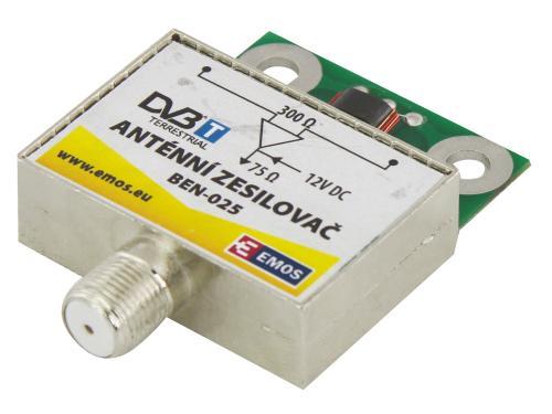 Fotografie Ben-025 anténní předzesilovač 15dB VHF/UHF