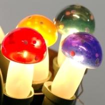Fotografie Náhradní žárovka muchomůrka barevná 20V/0,1A