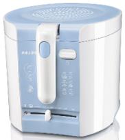 Fritéza Philips HD 6103 bílá/modrá