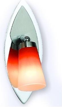 Fotografie Svítidlo 5608-1 nástěník oranž. sklo