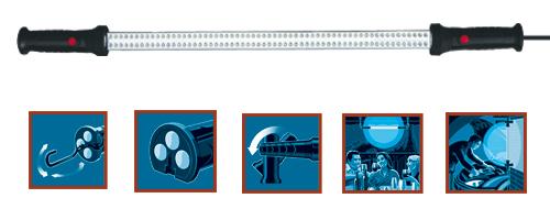 Montážní lampa LED WL 120H