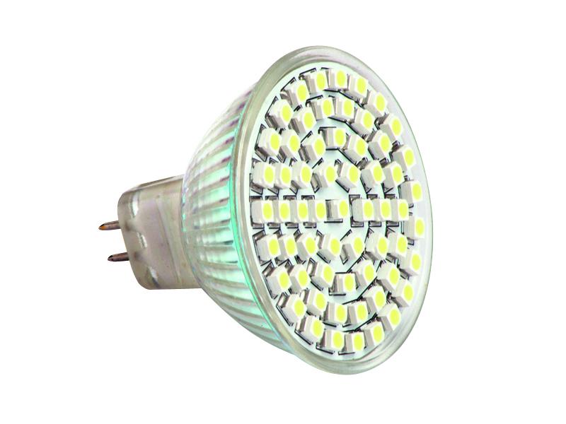 Žárovka LED60 SMD MR16 4W - WW
