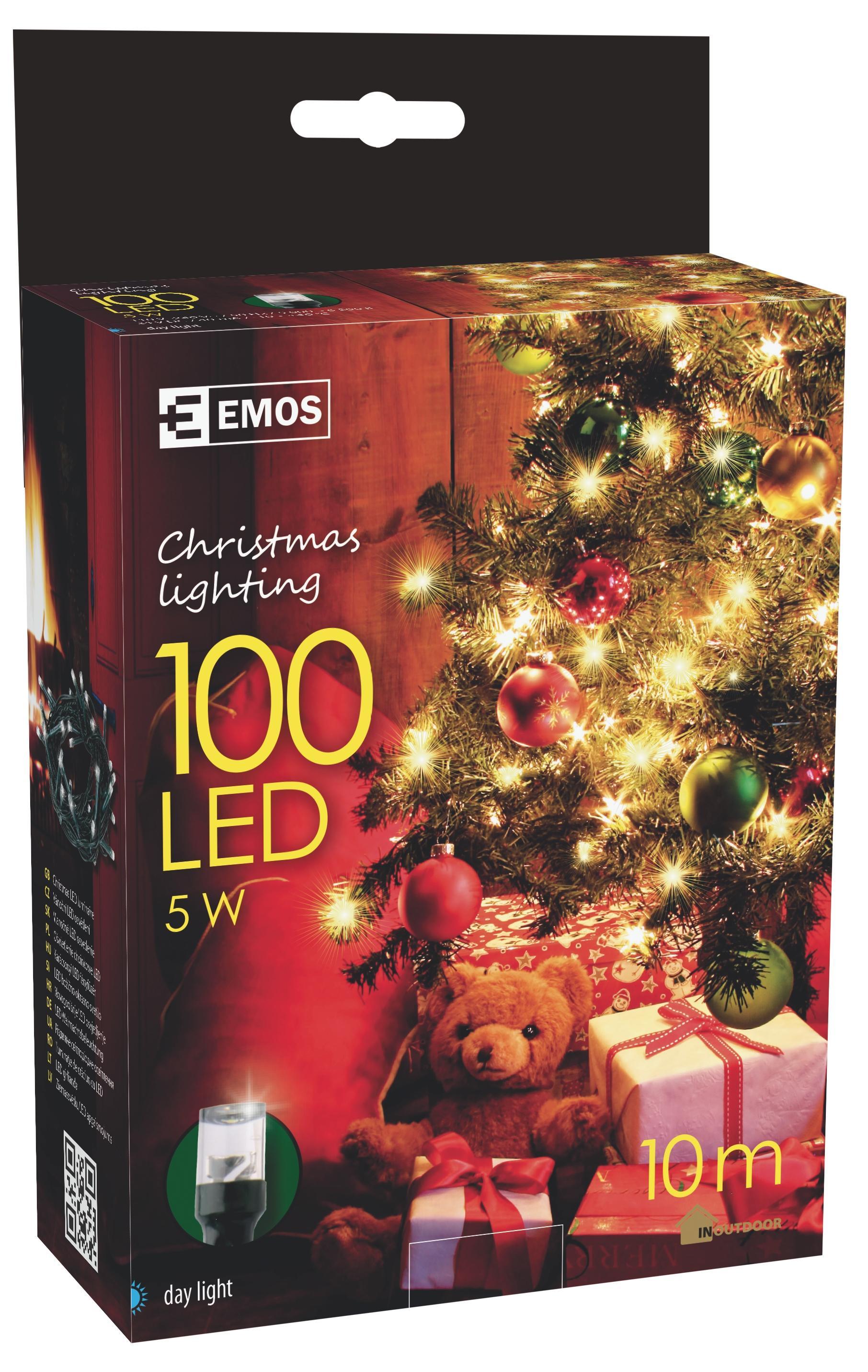 Vánoční řetěz ZY0807 100LED-3W