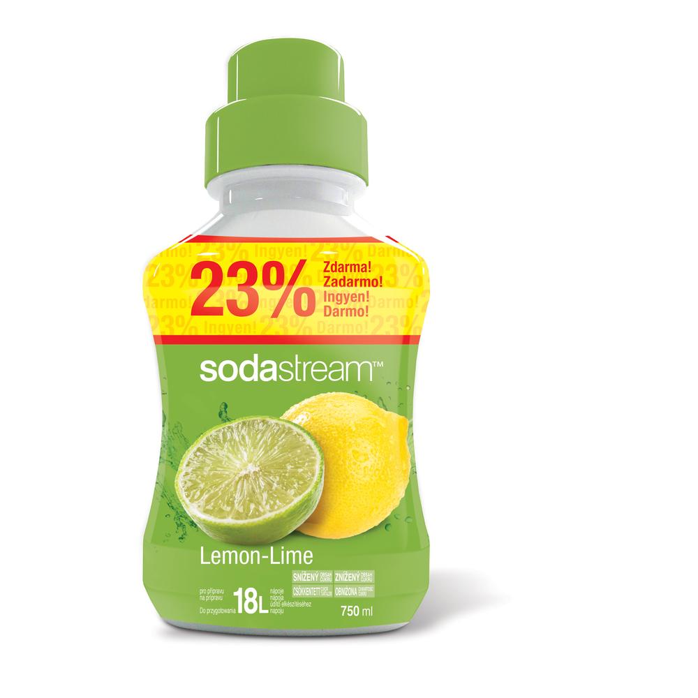 Sirup Lemon-Lime velký 750ml/18L SODASTREAM