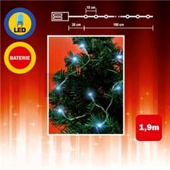 Malý vánoční řetěz 20LED